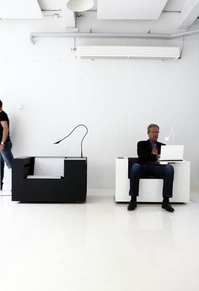Ergonomically Designed Furniture For Workstation. office .
