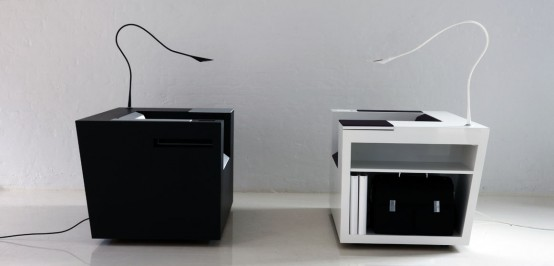 Modern and Ergonomic Workstation – Four Works by Four Design .