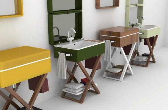 unusual bathroom washbasins Archives - DigsDi