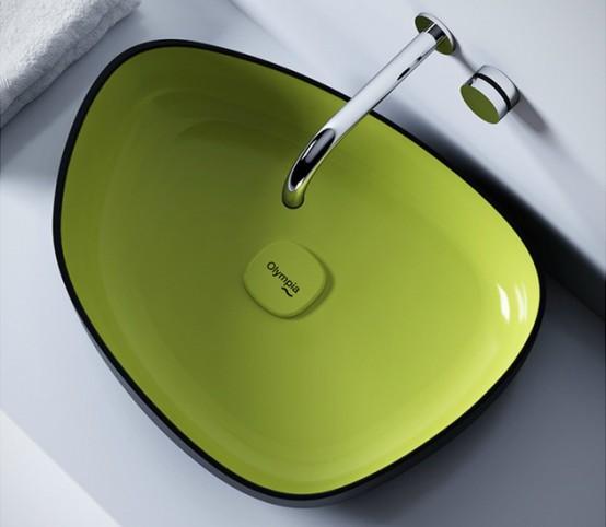Modern And Refined Metamorfosi Washbasins - DigsDi