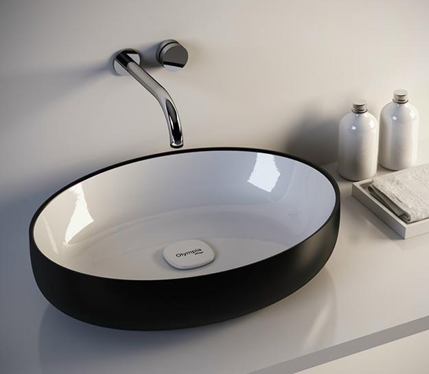 Modern Bathroom Sinks Metamorfosi Adding Shape and Color to .