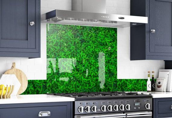 Kitchen Wall Decor Modern Kitchen Backsplash Mural | Et