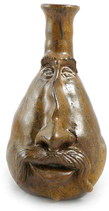 Amazon.com: Modern Artisans Whimsical Face Vase, Handcrafted .
