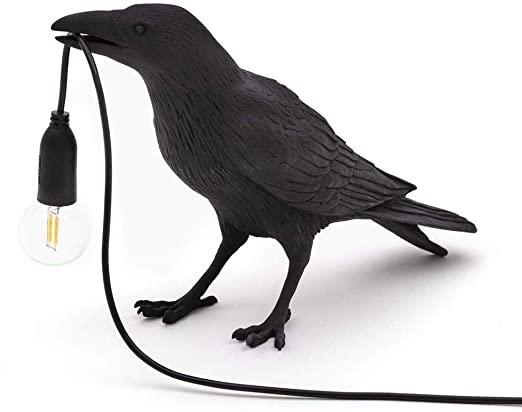 Amazon.com: Modern Resin Animal Bird LED Table Lamp for Bedroom .