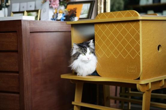 designer cat furniture Archives - DigsDi