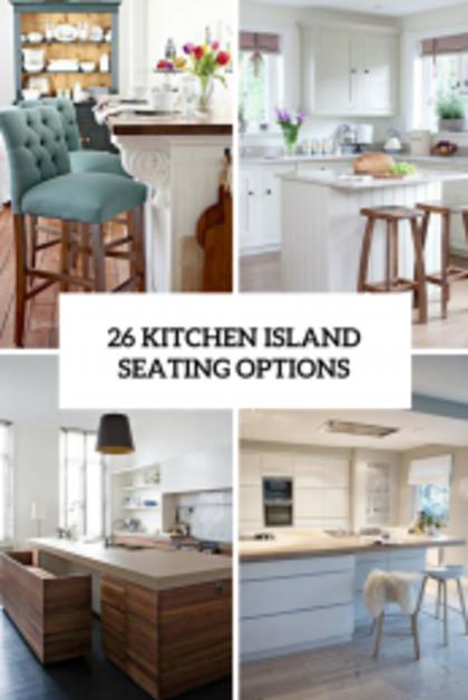125 Awesome Kitchen Island Design Ideas | Kitchen island with .