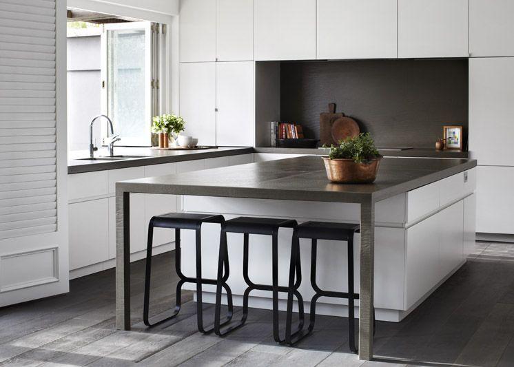 Toorak House by Robson Rak | Kitchen bar design, Kitchen interior .