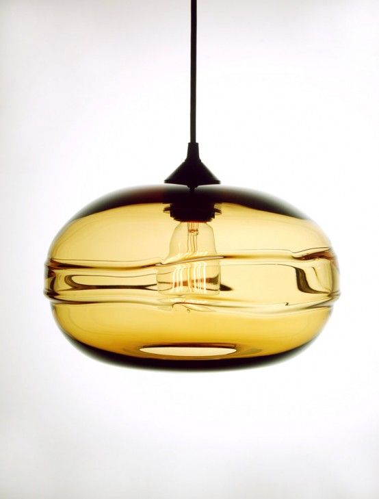 Modern And Stylish Clear Band Pendant Lamps Collecti