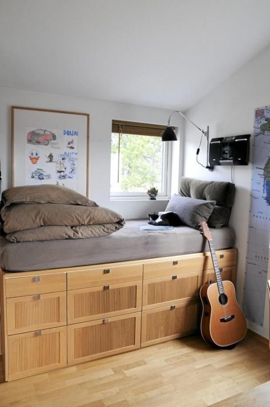 Kid Room Really Tiny Great Example Effective Modern Stylish Teen .