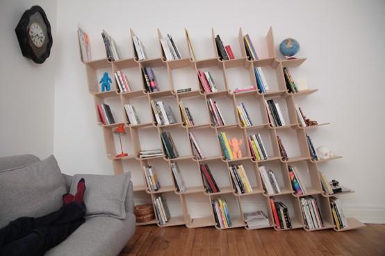 contemporary bookshelves Archives - DigsDi