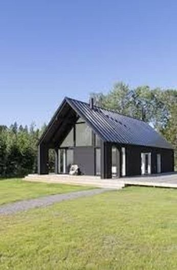 28 Luxury Black House Exterior Design Ideas For Your Inspiration .
