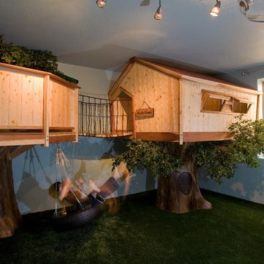 Indoor Tree House Design Ideas, Pictures, Remodel and Decor .