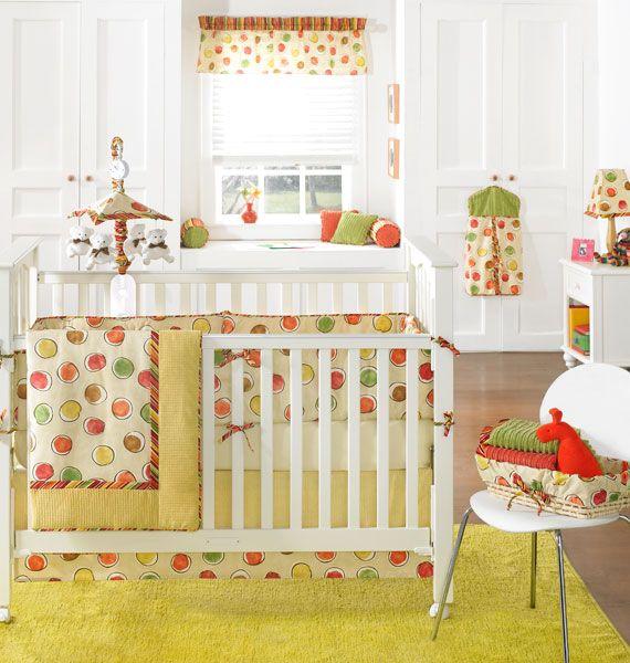 funky circles   Baby bedding sets, Crib bedding neutral, Neutral .