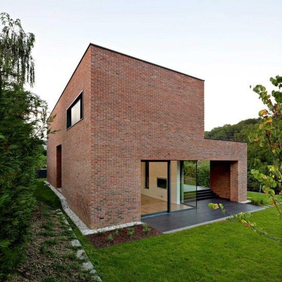 Image result for modern brick house walled garden | Huis .
