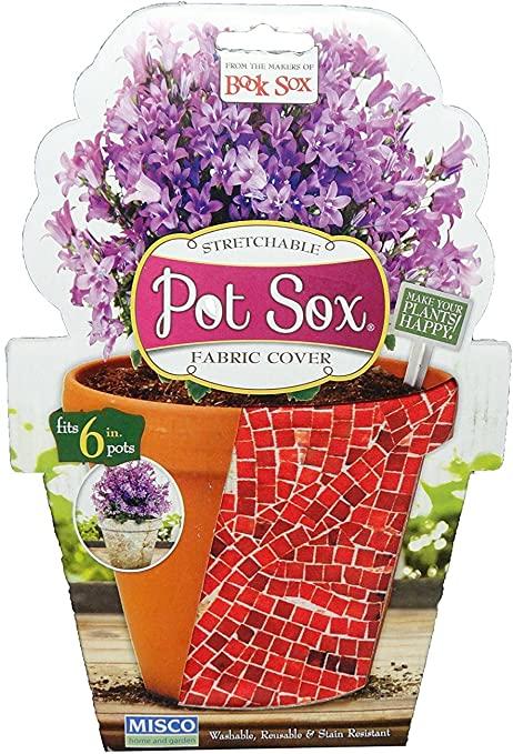 "Amazon.com: Set of 4 - 10"" Brick Design Home and Garden Modern Pot ."