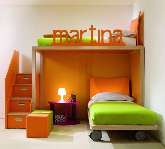 Modular Childrens Bedroom furniture Collection from Dearkids .