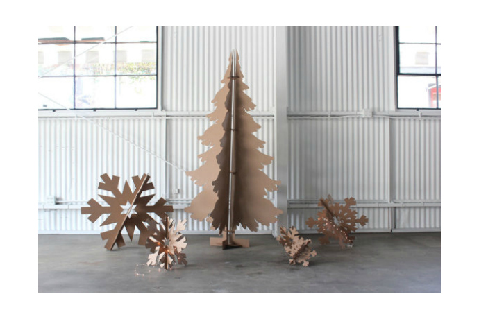 Cool Christmas tree alternatives for small spaces. Plus, no pesky .