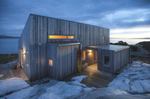 A modern coastal cabin in Norway   TYIN tegnestue   Small House Bli
