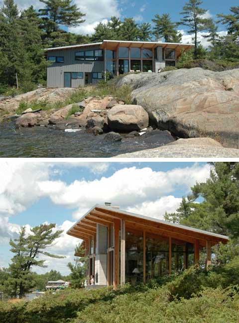 Shawanaga Bay Cabin: A Small coastal cottage - Coastal Homes .