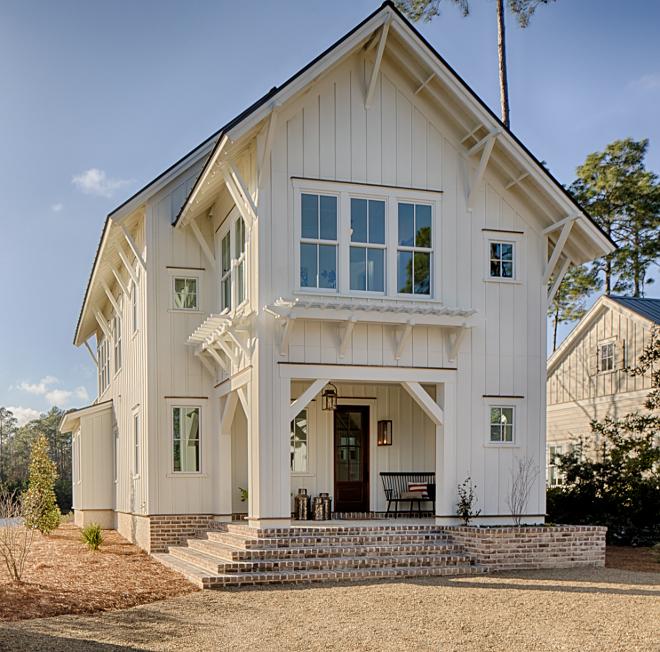 Modern Farmhouse Coastal Cottage Decorating Ideas - Hello Love