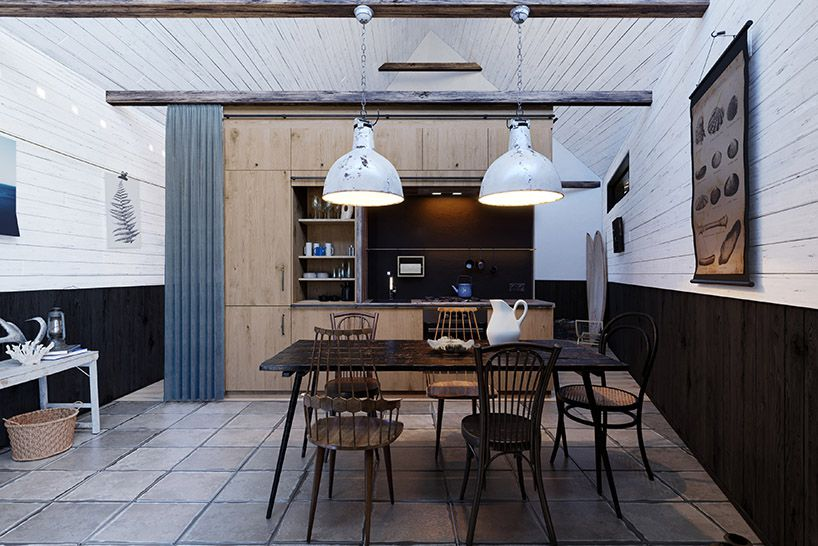 Rustic-modern beach cabin has it all - Curb
