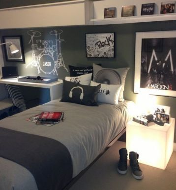Cool Bedroom Ideas For Teenage Guys – House n Dec
