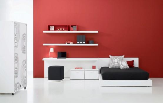 12 Modern, Cool and Elegant Teen Bedroom Decor Ideas - DigsDi
