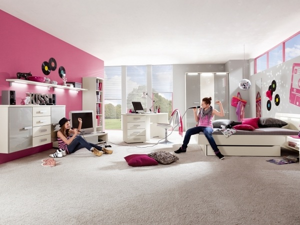 Modern and cool teenage bedroom ideas for boys and gir