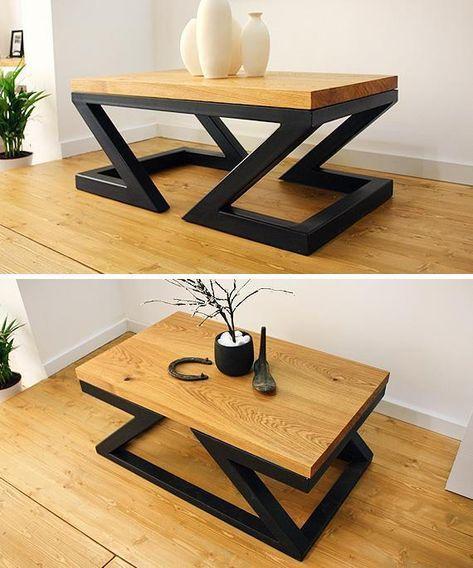 10 Easy to Build DIY Unique Coffee Tables #Unique #DIY .