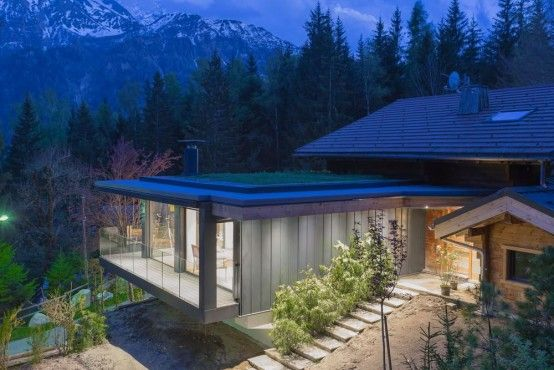 Modern And Elegant French Chalet With A New Extension - http://www .