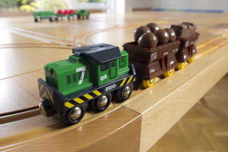 Stunning Dining Table With A Railway Road Your Kids Can Play With .