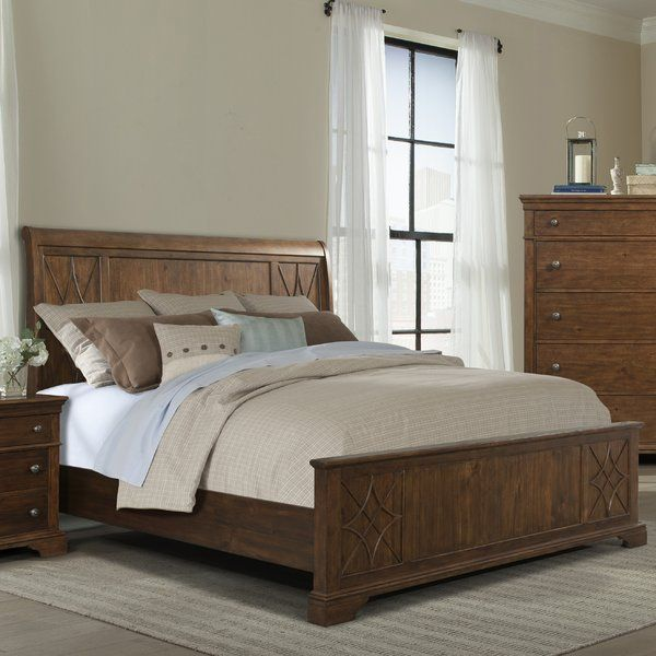 You'll love the Rock Eagle Road Sleigh Bed at Wayfair - Great .