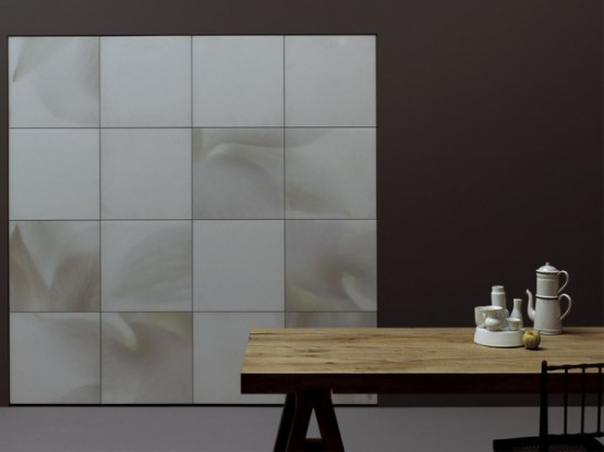 Modern Furniture For Kitchen And Bathroom - White Flowers By .