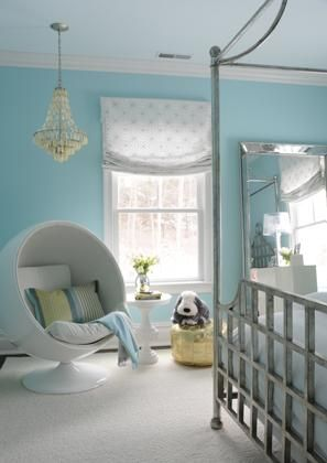 Pin by Ashley Tucker on Future Home❤️ | Girls blue bedroom .
