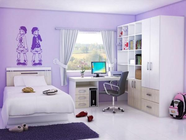 Inspiring Bedroom Design Ideas For Teenager Girls for Teenager .
