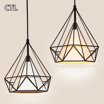 Triangle Shaped Restaurant Hanging Pendant Lights Decorative .