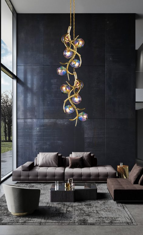 Modern Hanging Lights   Brand van Egmond