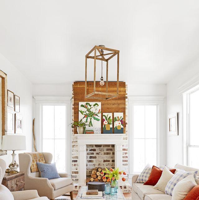 20 Fireplace Decorating Ideas - Best Fireplace Design Inspirati