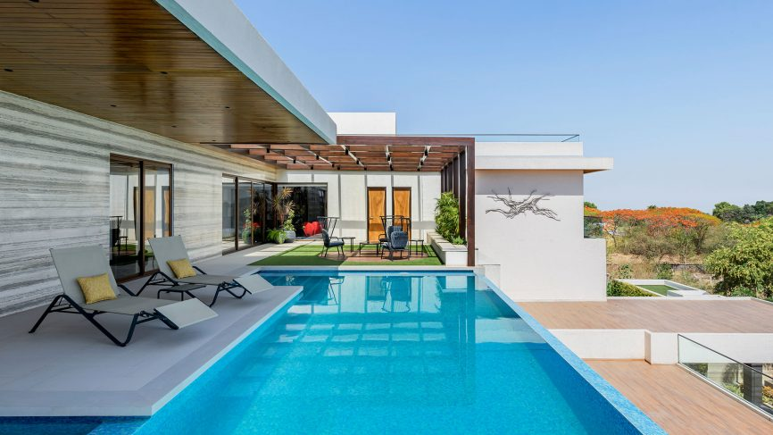 In this modern and art-filled Indore home, summer takes a sabbatic