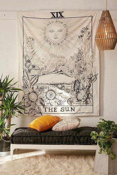 Tarot Tapestry   Bohemian bedroom decor, Room decor, Dec