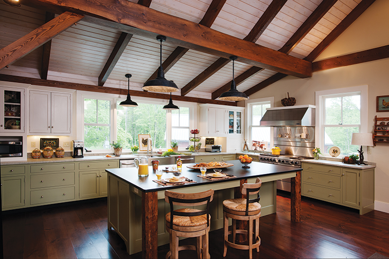 How to design a rustic, yet modern, kitchen - New Hampshire Home .