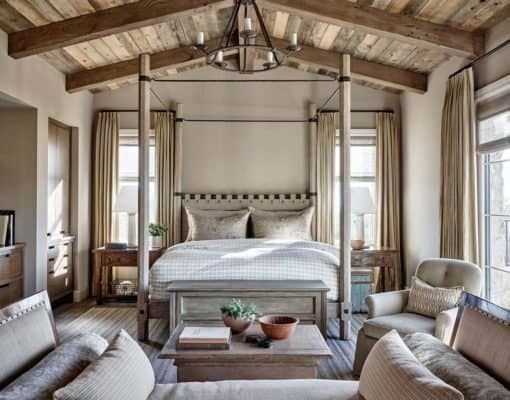 Mediterranean-inspired home with rustic details in the Sonoran .
