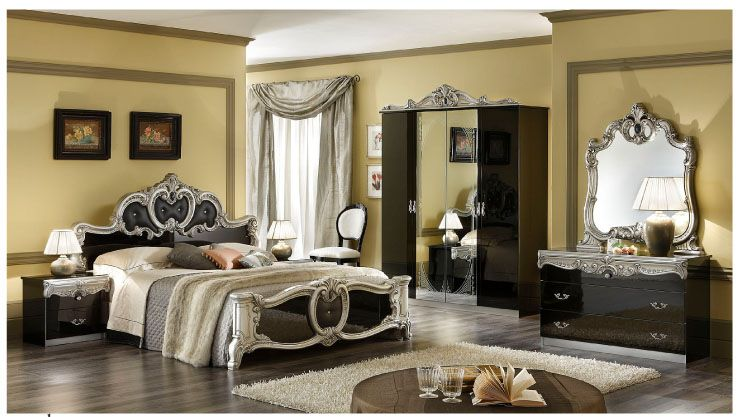 Modern Victorian Style Furniture   Luxurious bedrooms, Silver .