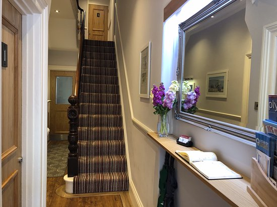 Modern interiors compliment Victorian elegance. - Picture of .