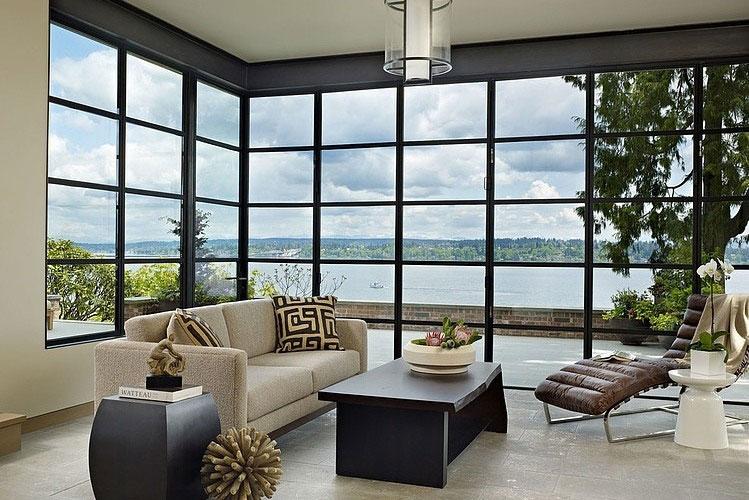 Window Wall Design for Modern Hous