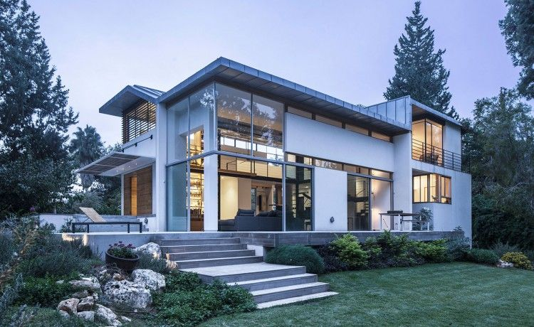 Modern House With Japanese Aesthetic On The Jerusalem Hills (With .