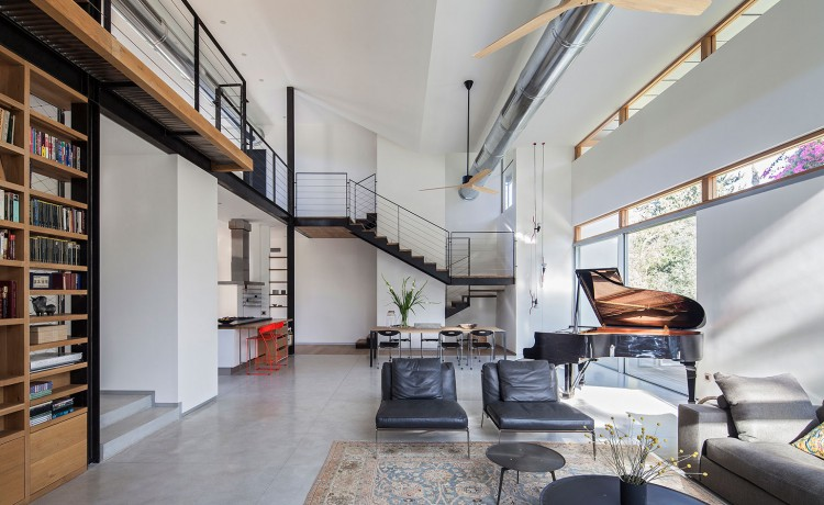 Modern House With Japanese Aesthetic On The Jerusalem Hills - DigsDi