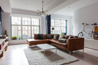 Inside An Industrial-Chic Flat in London | Architectural Dige