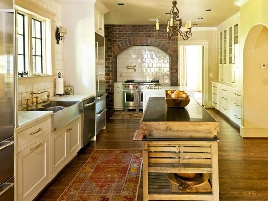 Beautify your Modern Kitchen Design with an Antique Decor Element .