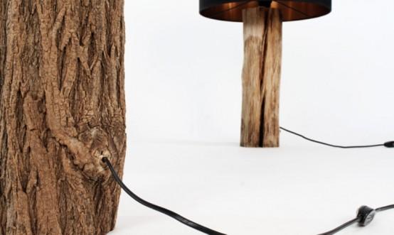 Modern Lamps Reminding Of Bonsai Trees - DigsDi